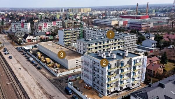 Toruńska Wołomin - widok inwestycji