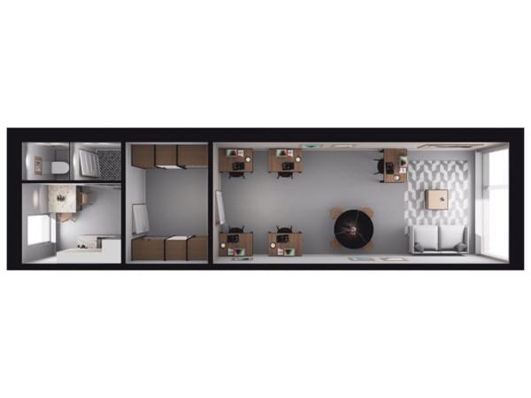 Toruńska Wołomin - wizualizacja mieszkania LU05